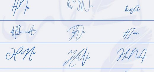 Signatures for Hina