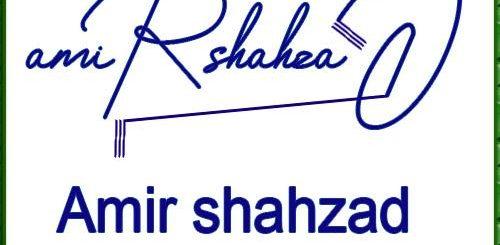 Amir Shahzad Handwritten Signature