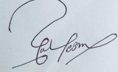 saleem cool Handwritten Signature