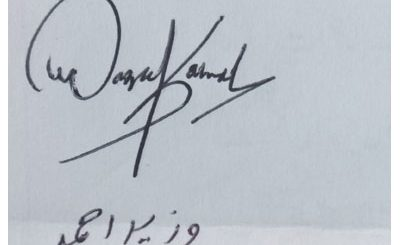 wazeer-ahmed best Handwritten Signature