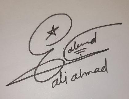 Ali Create Signature