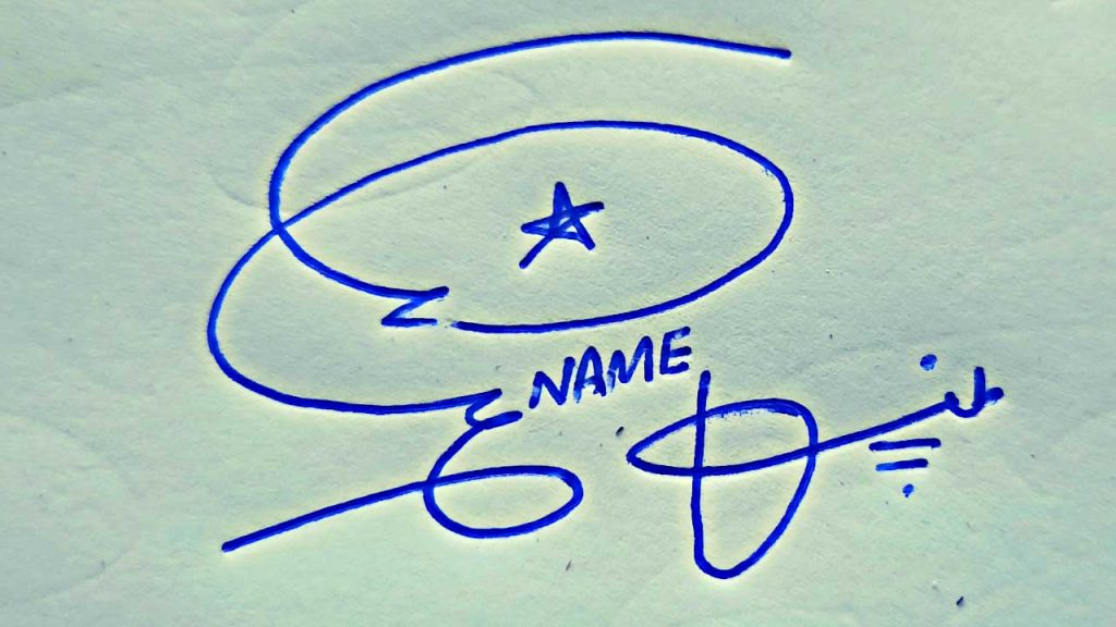 How to Draw Signature | Personal Signature Style