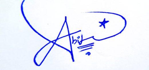 Abid Signature Styles