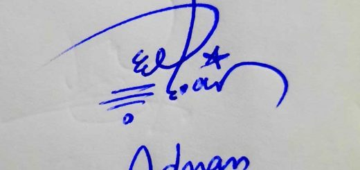 Adnan Name Signature Style