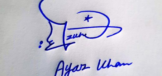 Ayaz Khan Name Online Signature Styles