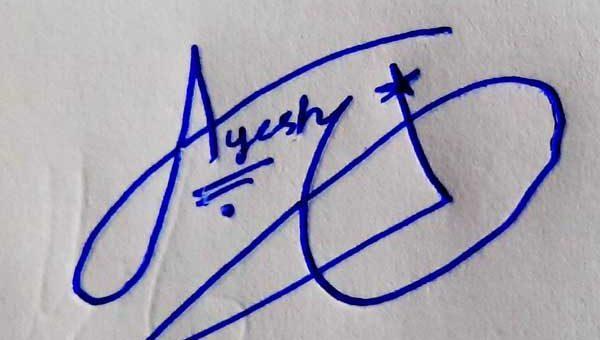 Ayesha Signature Styles