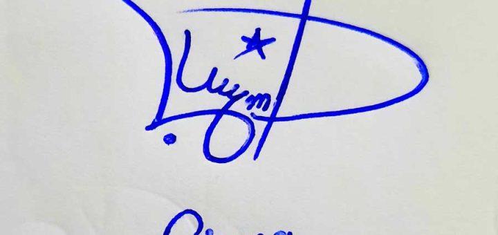 Bisma Name Signature Style