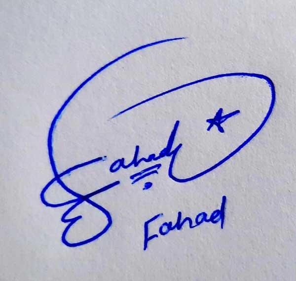 Fahad Signature Styles