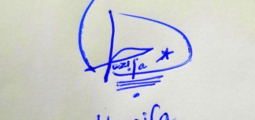 Huzaifa Name Online Signature Styles