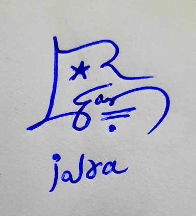 Iqra Name Signature Style