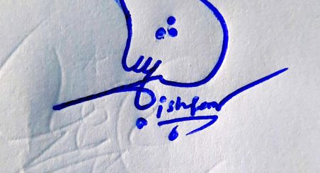 Ishfaq Name Online Signature Styles