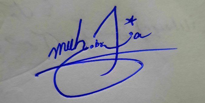 Muhib Rana Name Signature Style
