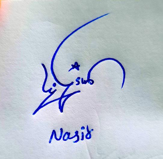 Nasir Name Online Signature Styles