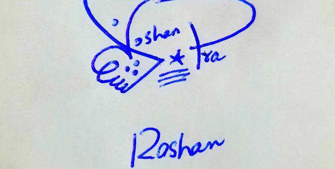 Roshan Ara Name Online Signature Styles