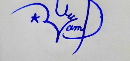Usama Name Signature Style