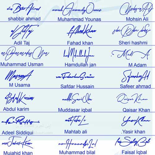 Pretty Signature Styles