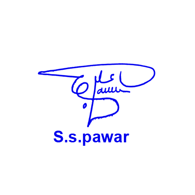 S S Pawar Signature Style