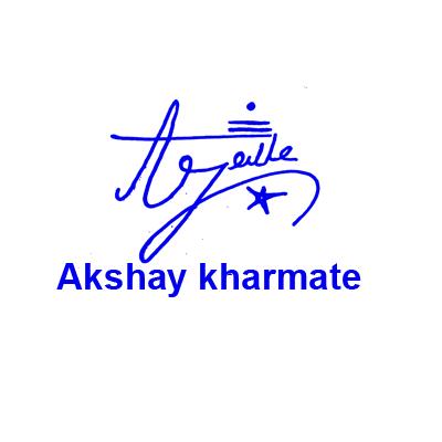 Akshay Kharmate Signature Style